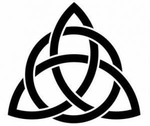 The Trinity Knot, A Common Symbol of the Trinity
