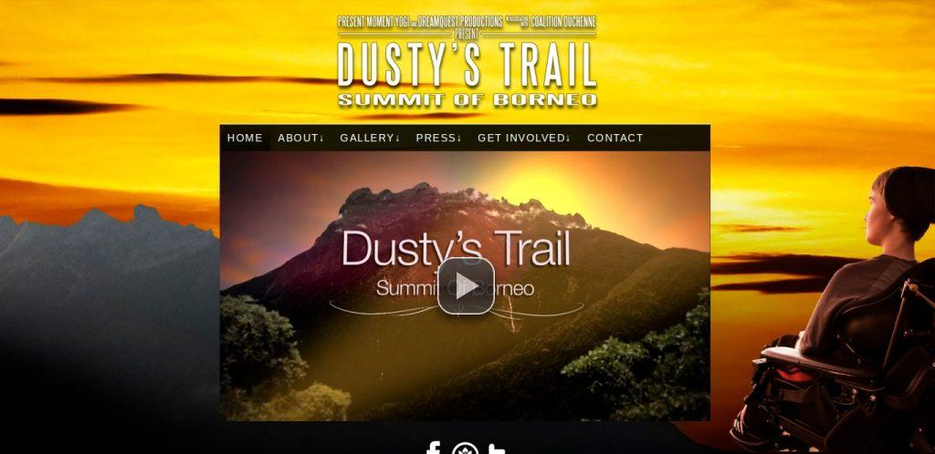 Dusty's Trail - Website
