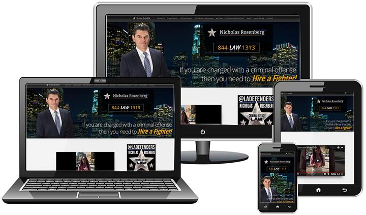 LA Defenders - Website