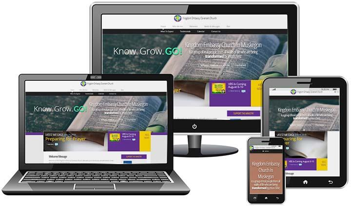 Kingdom Embassy Church - website