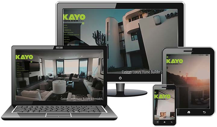 Kayo Custom Homes - Website